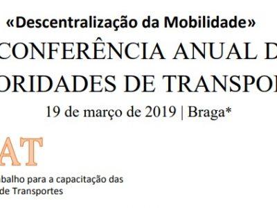 3.ª Conferência Anual das Autoridades de Transportes